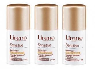 Perfekcyjny makijaż bez podrażnień dzięki nowej linii fluidów Lirene Sensitive