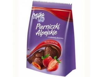 Wygraj Milka Pierniczki alpejskie truskawkowe z czekoladą