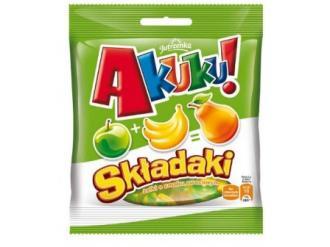 Akuku! Składaki -  pierwsze żelki zmieniające smak