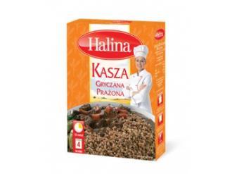 Kasza Gryczana Prażona marki Halina – złocisto-brązowa inspiracja kulinarna