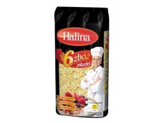 Płatki 6 Zbóż marki Halina – mix  zbożowej doskonałości