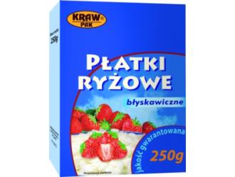 Błyskawiczny sposób na pyszne i zdrowe danie – Płatki ryżowe od firmy Krawpak