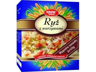 Kolorowo i zdrowo, czyli ryż z warzywami od firmy Krawpak