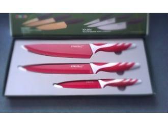 Konkurs: Wygraj ekskluzywny komplet noży kuchennych w kolorze czerwonym