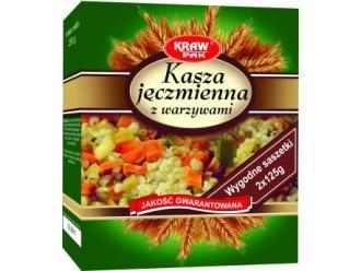 Najzdrowsza wśród kasz, czyli kasza jęczmienna z warzywami od firmy Krawpak
