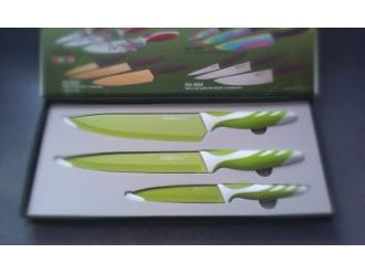 Konkurs: Wygraj komplet noży kuchennych w kolorze zielonym