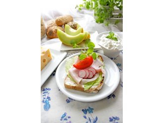 Zdrowie na talerzu dla seniora