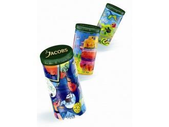 Kolorowe puszki Jacobs Krönung stworzone przez artystów-gwiazdy