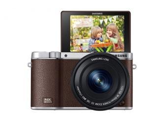 Aparat Samsung SMART NX3000 łączy stylistykę retro z doskonałymi własnościami użytkowymi i prostą łącznością