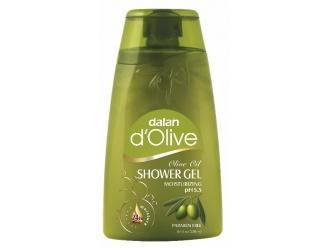 Oliwkowe oczyszczanie i nawilżanie – nawilżający oliwkowy żel do kąpieli i pod prysznic Dalan d'Olive