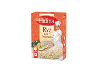 Ryż Gold Parboiled Halina - doskonałość w każdym ziarenku