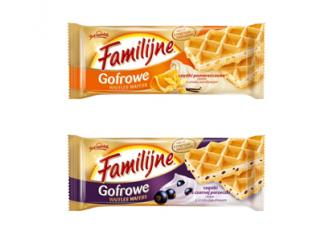 Gofrowo-owocowa nowość od marki Familijne
