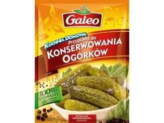 Nadaj nowy smak swoim ogórkom z przyprawą Galeo!