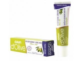 Skoncentrowana pielęgnacja w małej poręcznej tubce do każdej torebki !  – Intensywny pielęgnacyjny krem oliwkowy Dalan d'Olive