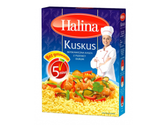 Lekki posiłek z Kaszą Kuskus marki Halina