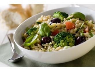 Makaronowy ryż na lunch