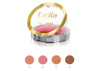 Linia róży do policzków Soft Blush od Delia Cosmetics