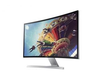 Nowy monitor Samsung z zakrzywionym ekranem