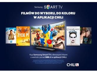 Wyjątkowy prezent od CHILI przy zakupie wybranych urządzeń Samsung