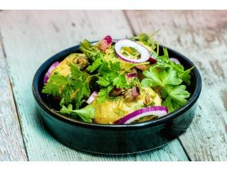 Sałatka z młodych ziemniaków z TABASCO® i natką pietruszki