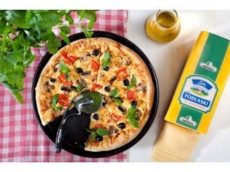 Pizza z serem Podlaskim MSM Mońki