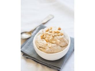 Słodko - kwaśny deser z mascarpone i chałwą