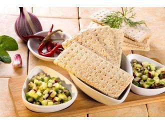 Przepis na salsę ogórkową z chlebkami Tovago