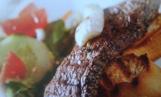 Przepis na stek w mięcie