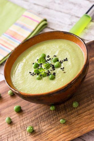 Kremowa zupa z kukurydzy z grzankami