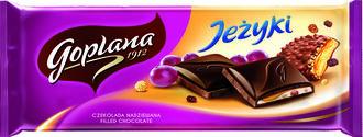Kultowe Grześki i Jeżyki zatopione w aksamitnej czekoladzie!
