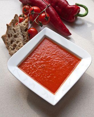 Ostry krem z pomidorów