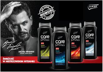 Luksja Care Pro MEN - pierwsza w historii marki linia kosmetyków dla mężczyzn