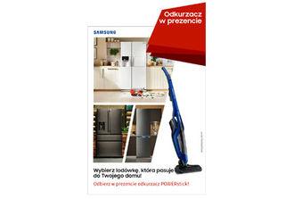 Wybierz lodówkę idealną do Twojego domu i odbierz odkurzacz POWERstick!