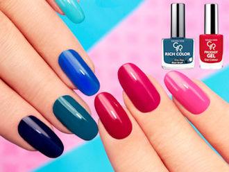 Paznokcie w kolorach Pantone