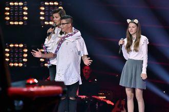"""Edyta Górniak szuka dziewczyny Allanowi na planie """"The Voice Kids"""""""