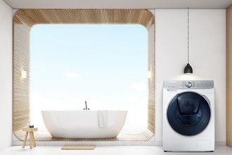 Nowa pralka marki Samsung z przełomową technologią QuickDrive™ skraca czas prania nawet o połowę