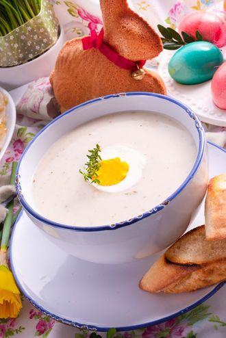 Zupa chrzanowa - alternatywa dla wielkanocnego żurku