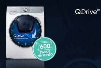 Zakup, który się zwraca – kup pralkę Samsung QuickDrive™ i otrzymaj nawet do 600 zł