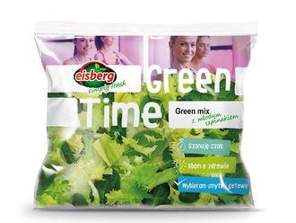 Moc zdrowia i smaku - Green mix z młodym szpinakiem marki Eisberg