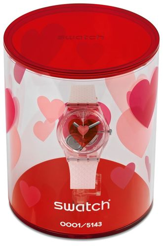 Walentynkowy zegarek SWATCH - TRIPLE LOVE