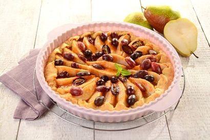 tarta-gruszkowa-z-winogronami
